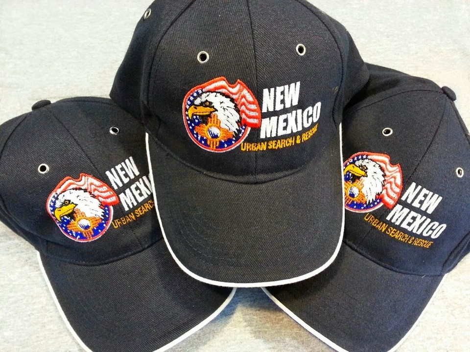 Another picture of the hats. The black outline around the eagle really makes this logo pop. Really pleased by the work on this. What do you think?