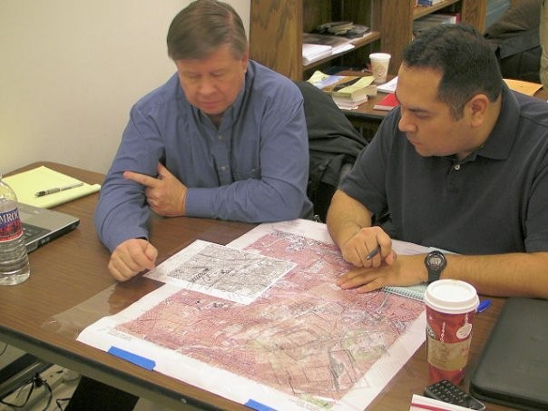 Planning Team Training at the NM-TF1 offices in October 2011. Can you identify the people in the picture?