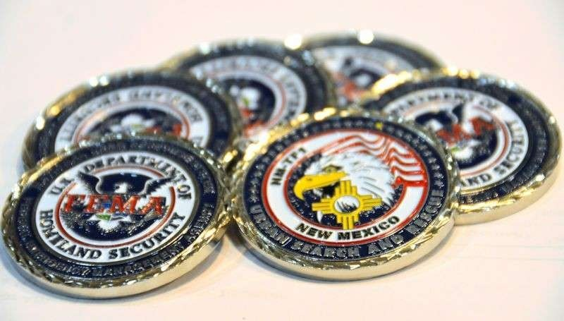 GOOD NEWS! We have 300 new challenge coins ordered. I updated the artwork slightly but overall they are basically the same coin. We are also reducing the regular price down to $7 per coin. All proceeds go into a task force fund that benefits you. No one makes a profit from the sale of NM-TF1 items. These sold out rather quickly before so if you would like to reserve a batch please let me know.