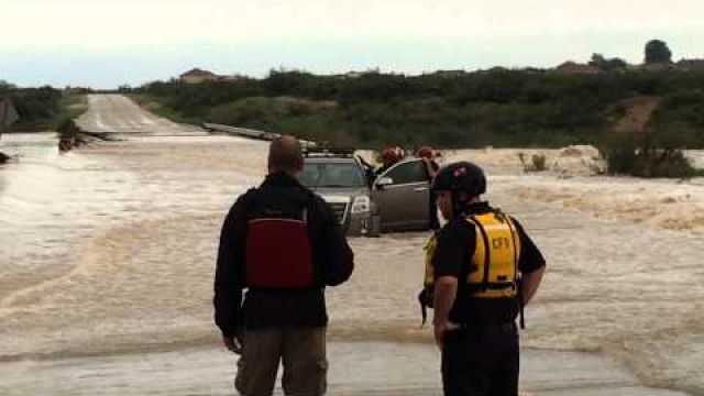 Carlsbad Fire Department Swift Water Rescue Team 9/22/14