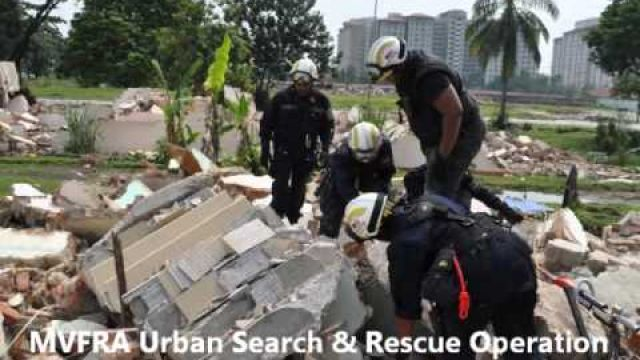 MVFRA Urban Search & Rescue Training