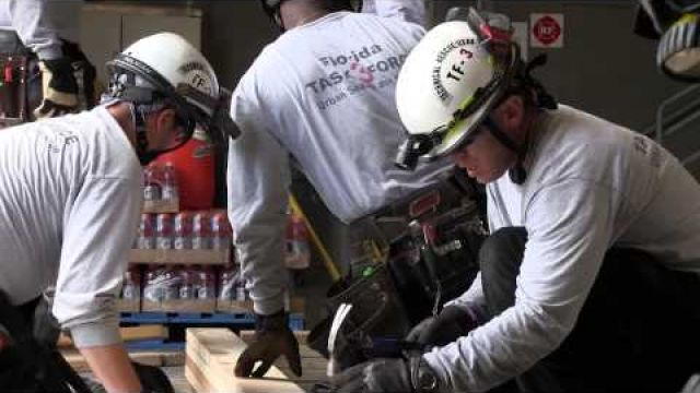 Tampa Fire Rescue on Spotlight Tampa - USAR Training Florida Task Force 3